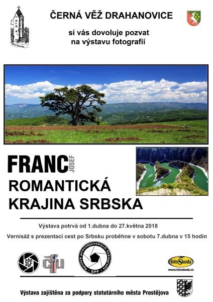 Romantická krajina Srbska - Josef Franc