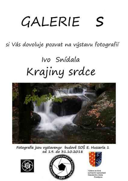 Krajiny srdce Ivo Snídal 2018